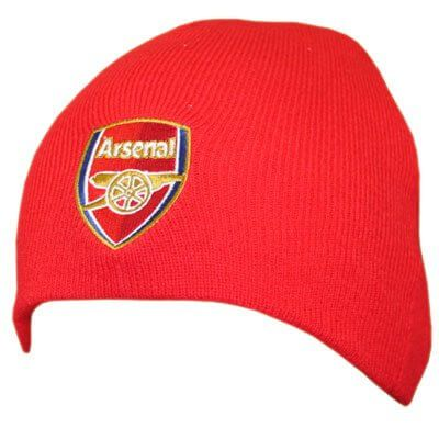 Arsenal Red Knitted Hat