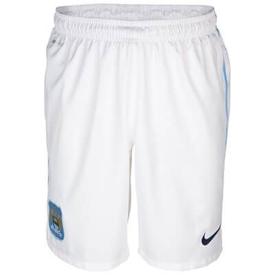 Manchester City Home Shorts 2013 - 2014