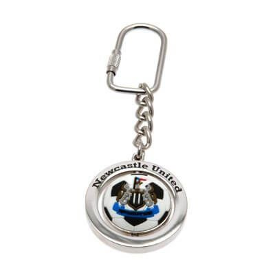 Newcastle United Football Spinner Keyring