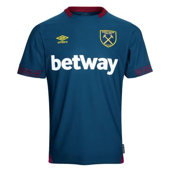 West Ham United Umbro Away Shirt 2018/19 (Adults)