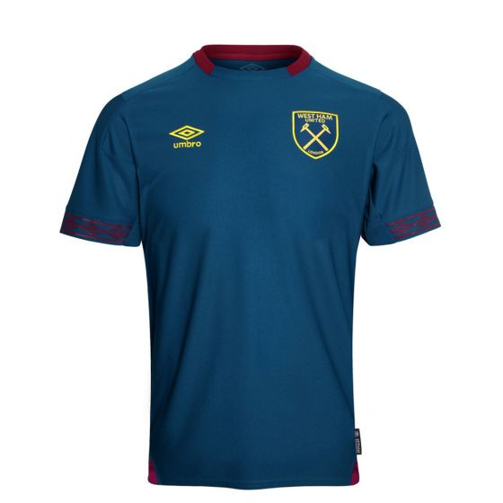 West Ham United Umbro Away Shirt 2018/19 (Kids)