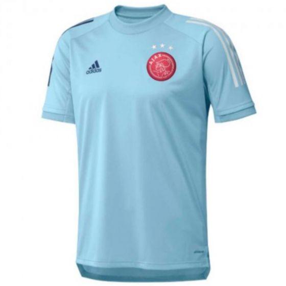 Ajax ice blue training jersey 20/21