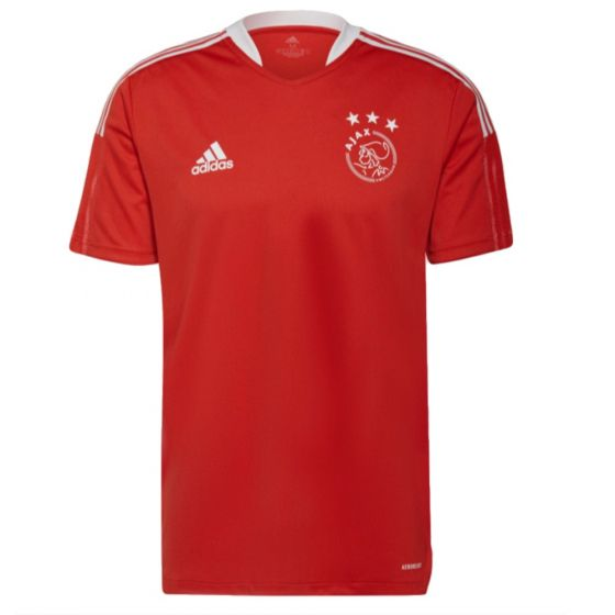 Ajax 21/22 red tiro training jersey