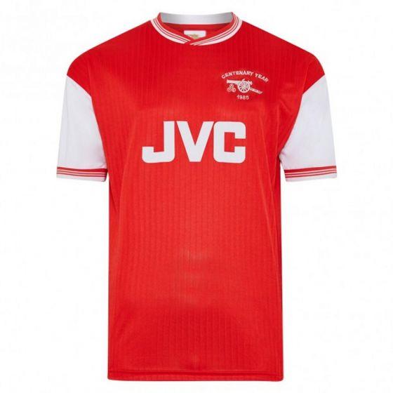 Arsenal 1985 Centenary Retro Home Shirt