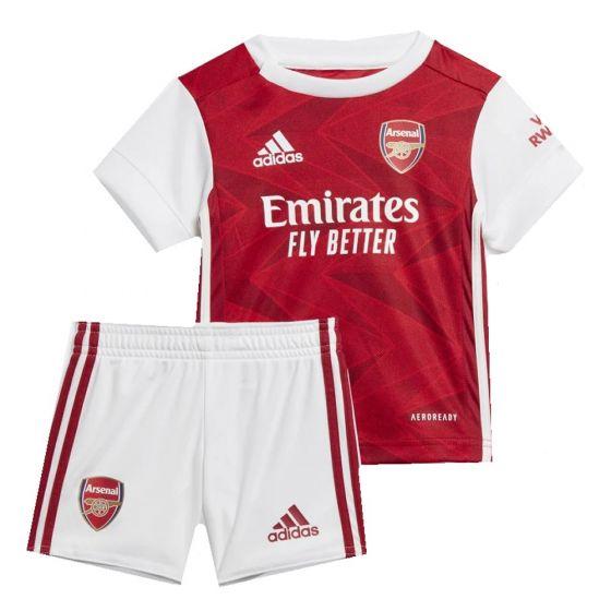 Arsenal Baby Home Kit 2020/21