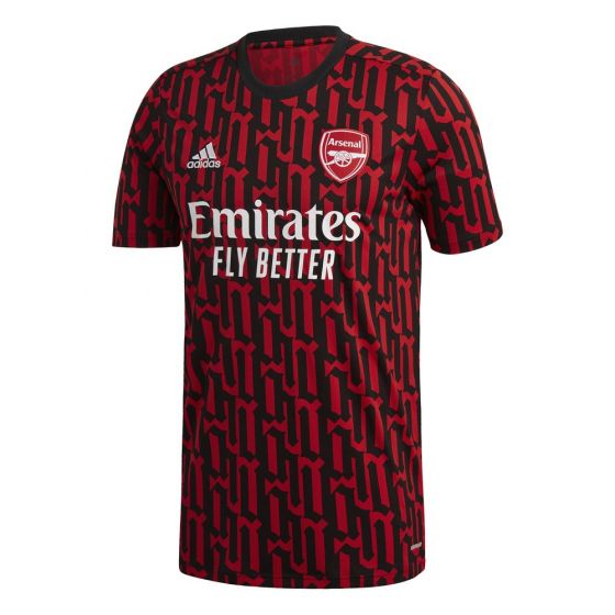 Arsenal Red Pre-Match Jersey 2020/21