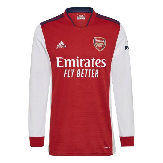 Arsenal Long Sleeve Home Shirt 2021/22