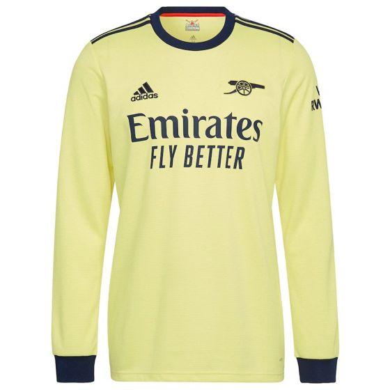 Arsenal Long Sleeve Away Shirt 2021/22