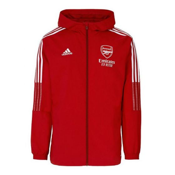 Arsenal 21/22 presentation jacket (red)