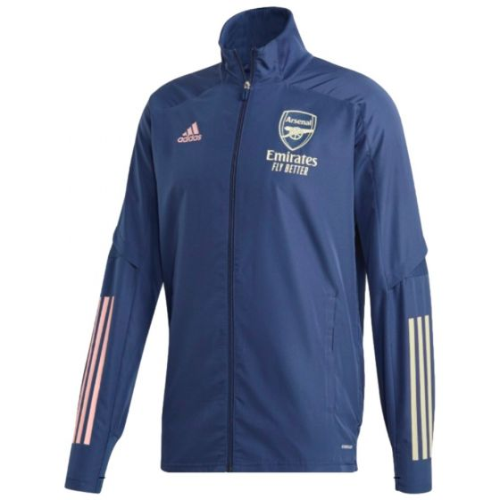 Arsenal blue presentation jacket 20/21