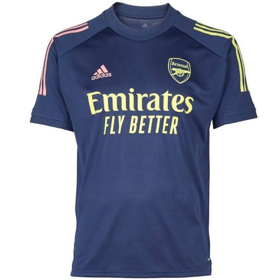 Arsenal junior training shirt 20/21 (blue)