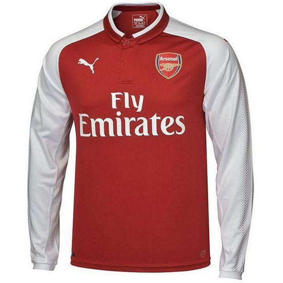Arsenal Kids Long-Sleeve Home Shirt 2017/18