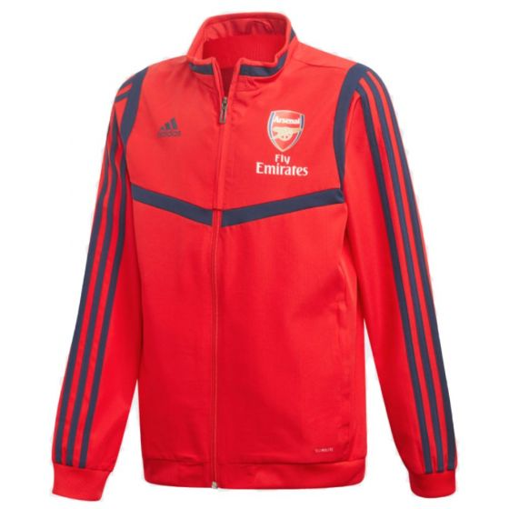Arsenal junior Adidas red presentation jacket 19/20