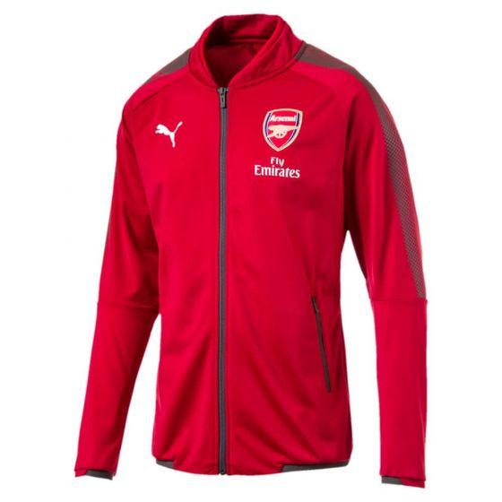 Arsenal Stadium Jacket 2017/18 (Red)