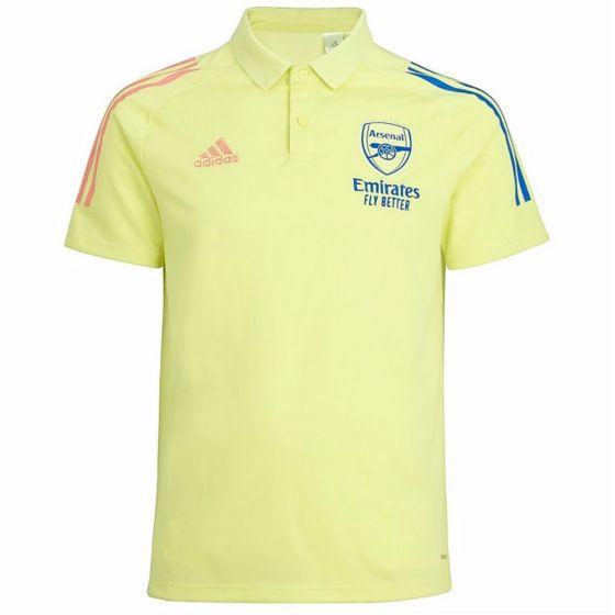 Arsenal 20/21 yellow polo shirt