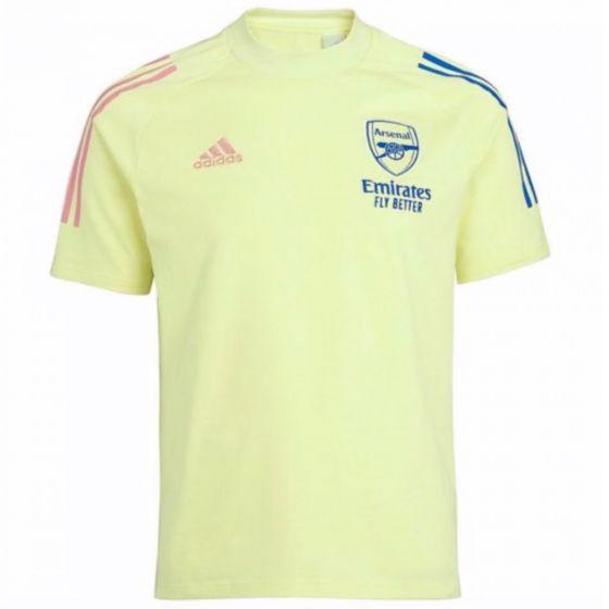 Arsenal 20/21 yellow t-shirt