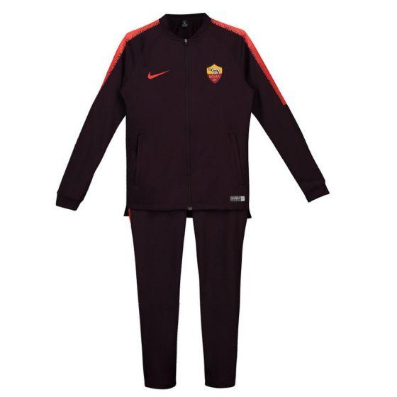 AS Roma Nike Burgundy Squad Knit Tracksuit 2018/19 (Kids)