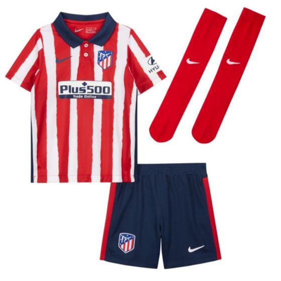 Atletico Madrid Kids Home Kit 2020/21