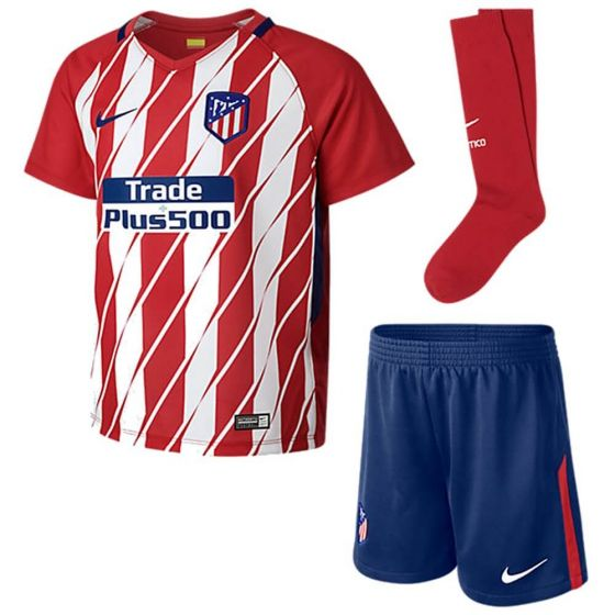 Atletico Madrid Kids Home Kit 2017/18