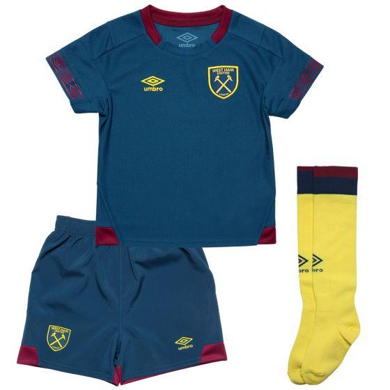 West Ham United Umbro Away Kit 2018/19 (Kids)