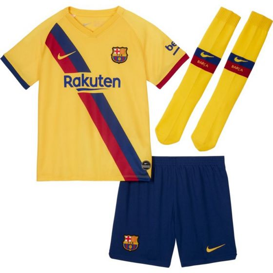 Barcelona Kids Away Kit 2019/20