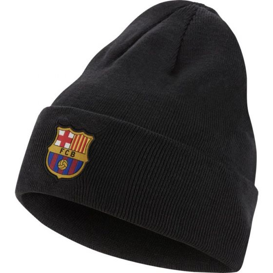Barcelona Grey Beanie Hat 2019/20