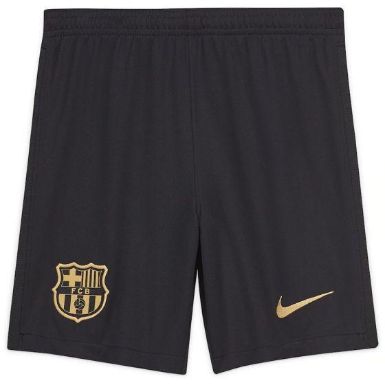 Barcelona Kids Away Shorts 2020/21