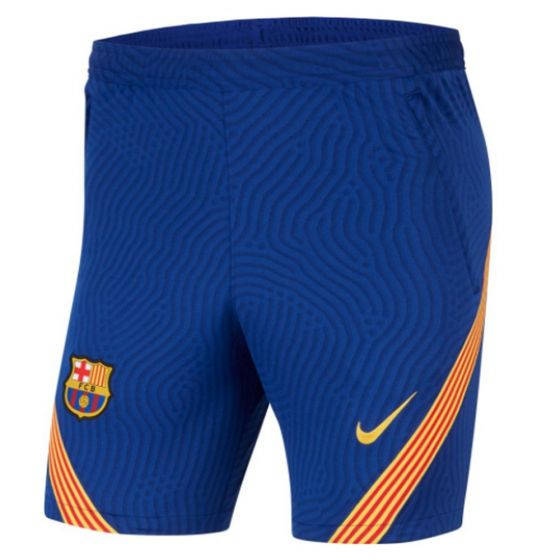 Barcelona Blue Strike Training Shorts 2020/21
