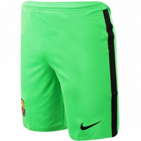 Barcelona Kids Green Goalkeeper Shorts 2020/21