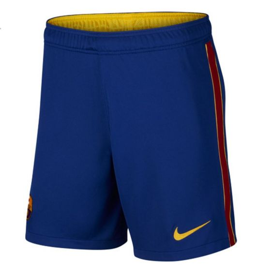 Barcelona Kids Home Shorts 2020/21
