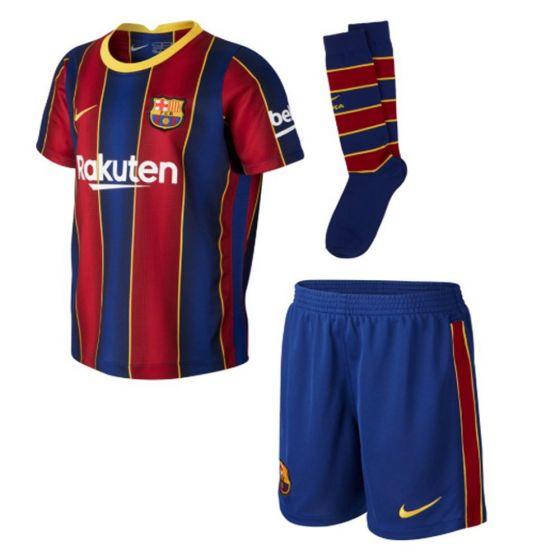 Barcelona Kids Home Kit 2020/21