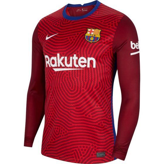 Barcelona Red Goalkeeper Shirt 2020/21