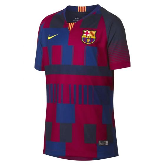 Barcelona Nike 20th Anniversary Home Shirt 2018 (Kids)