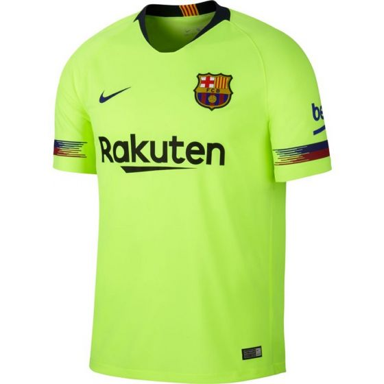 Barcelona Nike Away Shirt 2018/19 (Kids)