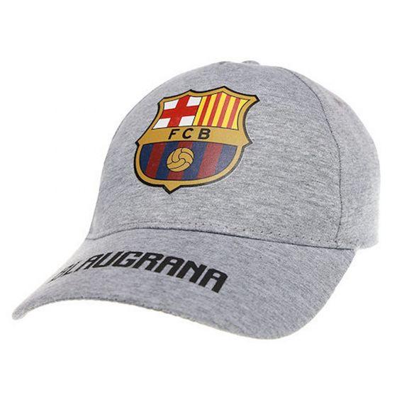 Barcelona Junior Blaugrana Cap (Grey)