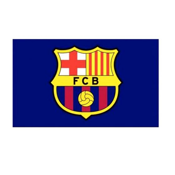 Barcelona Core Crest Flag