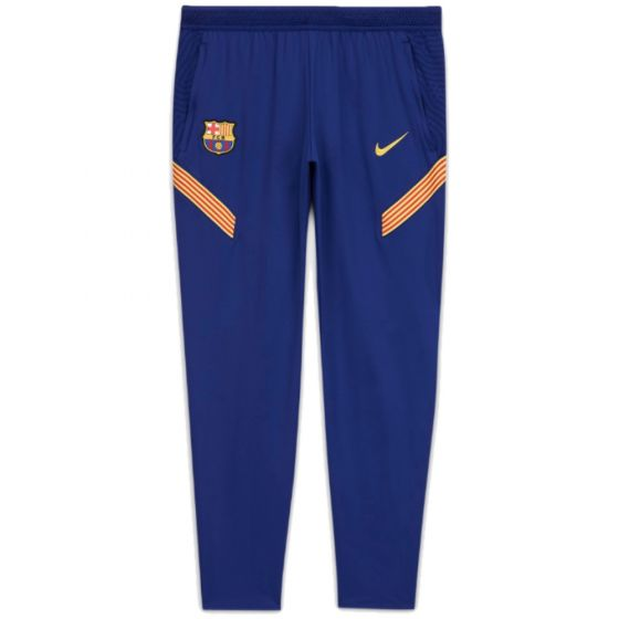 Barcelona junior blue strike training pants 20/21