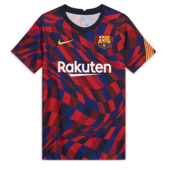 Barcelona kids 20/21 pre-match jersey (home)