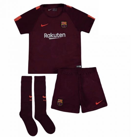 Barcelona Kids Third Kit 2017/18