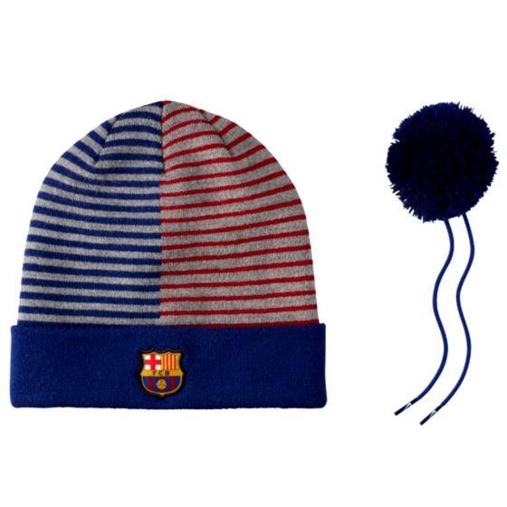 Barcelona Nike Pom Pom Beanie Hat 2018/19