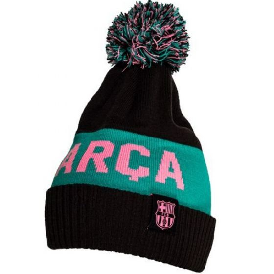 Barcelona Away Pom Pom Beanie Hat 2020/21