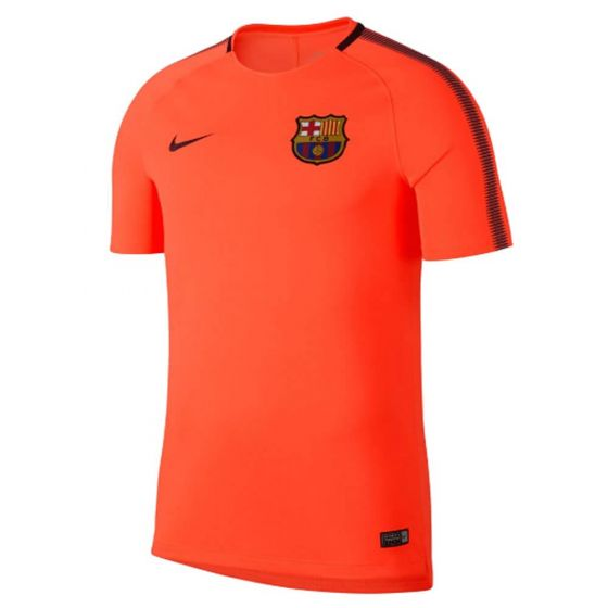 Barcelona Squad Training Jersey 2017/18 (Orange)