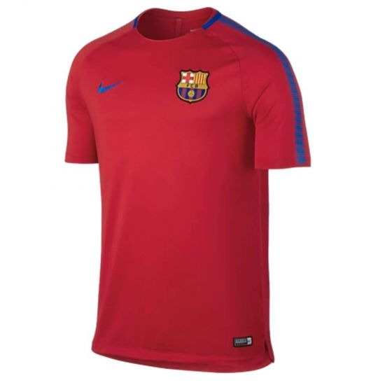 Barcelona Squad Training Jersey 2017/18 (Red)