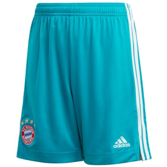 Bayern Munich kids home goalkeeper shorts 20/21