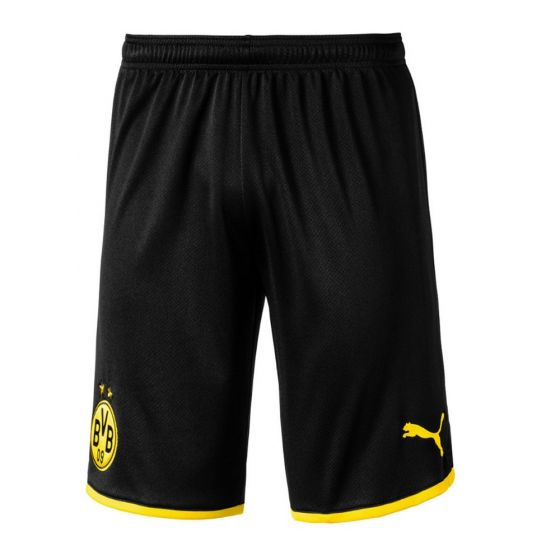 Borussia Dortmund Home Football Shorts 2019/20