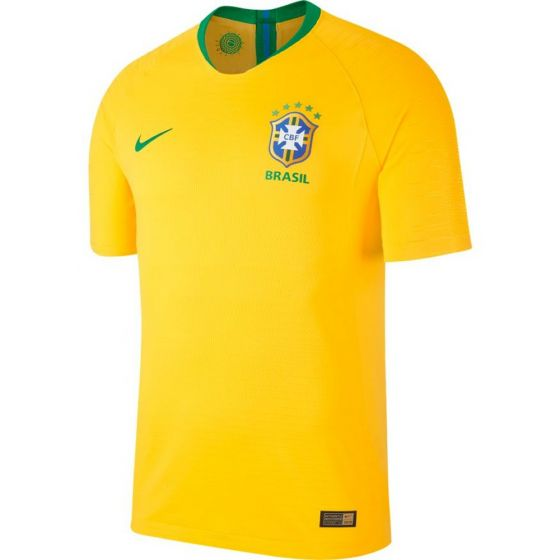 Brazil Nike Authentic Home Shirt 2018/19 (Adults)