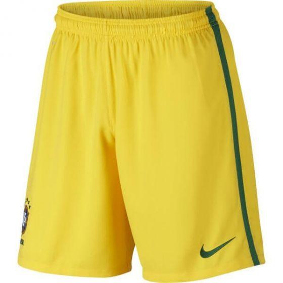 Brazil Kids Home Football Shorts 2016/17