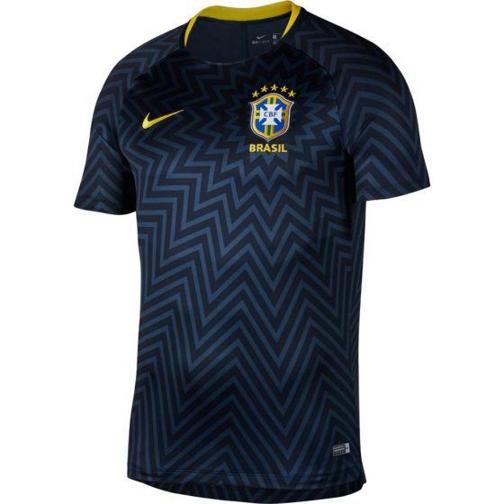 Brazil Nike Pre-Match Shirt 2018/19 (Adults)