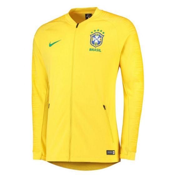 Brazil Nike Squad Jacket 2018/19 (Adults)