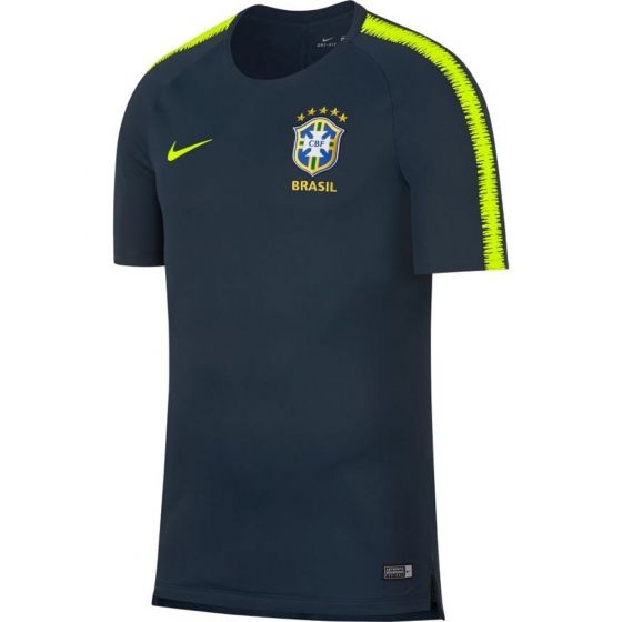 Brazil Nike Squad Training Jersey 2018/19 (Navy)